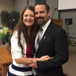Pastor Rich Manrique and his wife Emily