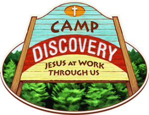 VBS Camp Discovery logo